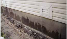Be aware of concrete moisture