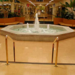 Plank flooring for commercial applications