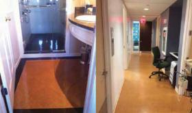 New standard, old installation methods: cork tile