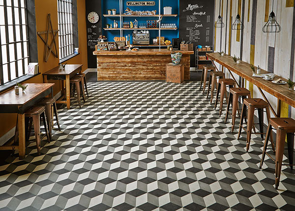 Lvt Patterns Have Geometric Shapes Coverings
