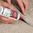 Sealing carpet seams