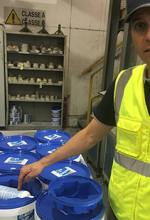 Factory and field: Mapei meets goals