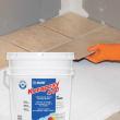 Epoxy setting floor and wall mortar