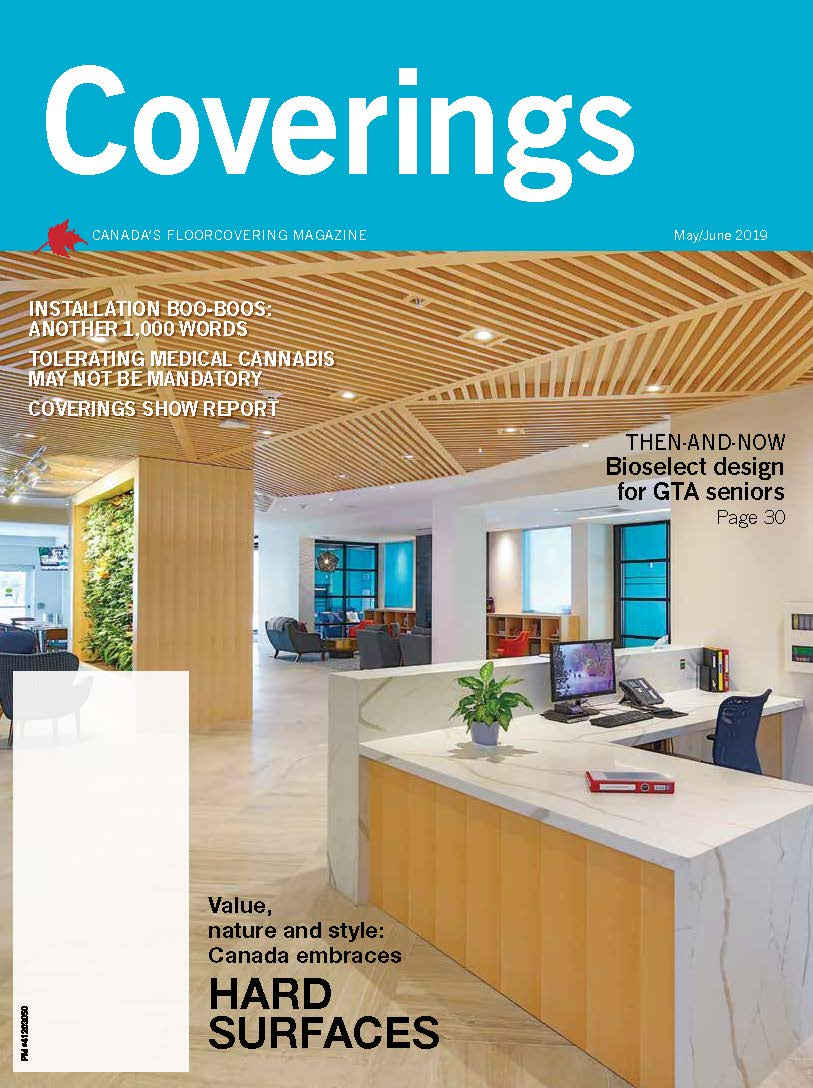 MayJun 2019 Coverings cover - Westney Gardens Retirement Residence Ajax On